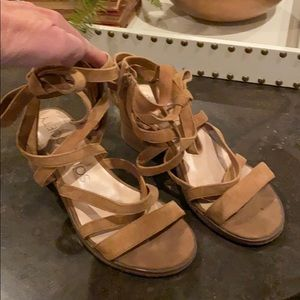 Sole Society ankle sandals